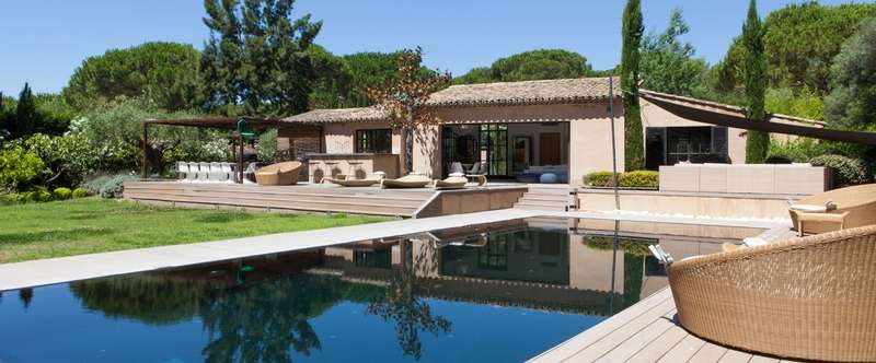 The Villa Bia in St. Tropez