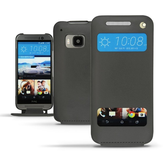 HTC one M9 leather cover