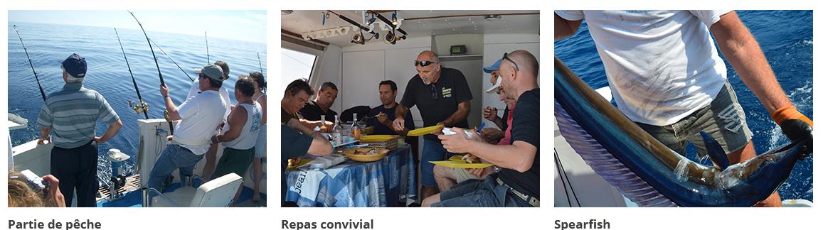 Pêche en bateau PACA (depuis le port de Mandelieu): des journées magnifiques!